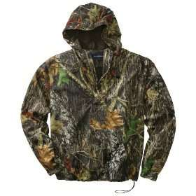 PA Mens NEW Size S L WATERPROOF Mossy Oak Camo Hooded 1/2 Zip Jacket