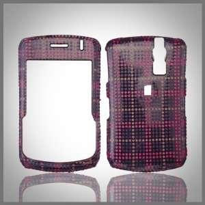 Pink Purple Clear Glitterati glitter bling case cover