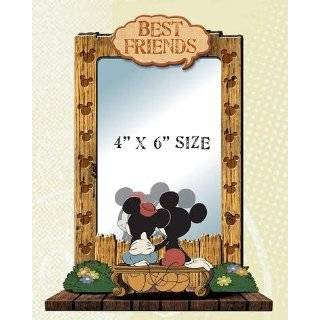 Mickey & Friends Picture Frame  Donald Pluto Minnie