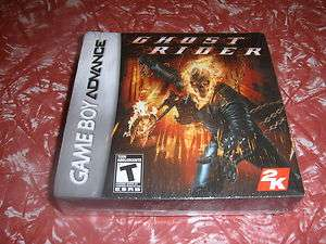 NEW SEALED GAME BOY ADVANCE GAME, GHOST RIDER