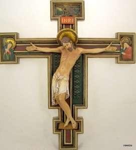 St. Damian San Damiano Wall Cross Crucifix Jesus Christ