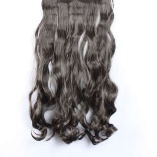 2011 new womens long curly/wavy hair extension Synthetic sexy stylish