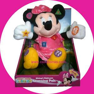 Mickey Mouse Club House Learning Minnie Pals Plush 3+ 049022507500