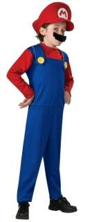 BRAND NEW SUPER MARIO BOYS COSTUME SIZE SMALL 4 6X
