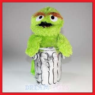 15 Sesame Street Oscar the Grouch Plush Backpack |