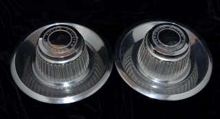 1968 1977 Chevy Chrome Derby Rally Wheel Hub Center Caps