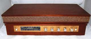 Monacor SMX 50A AM/FM Stereo Tube Radio Receiver Rare