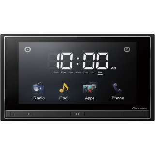 Pioneer Mobile AppRadio Car Stereo with iPhone 4 App Control and 6.1