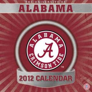 Alabama Crimson Tide 2012 Desk Calendar 1436089565