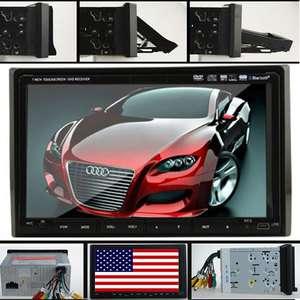 Double Din Car DVD Player Car Deck Radio Stereo Audio