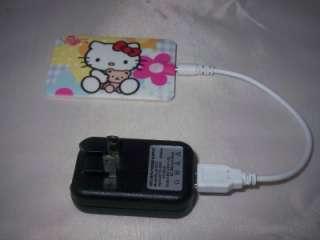 2GB br/bg HELLO KITTY slim card size  player + extras