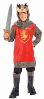Child Boys Crusader King Renaissance Costume