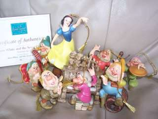 NEW Disney Collection Snow White ornament SET 23411361