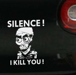 Silence I Kill you Autoaufkleber Achmed the Dead Terrorist