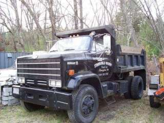 1987 Chevrolet Kodiak C70 CC7D042 Dump Truck, CAT 3208 Diesel Engine