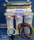 Stage RO 80 gpd Membrane + Booster Pump Reverse Osmosis Water Filter