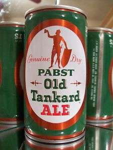 PABST OLD TANKARD ALE OLD BEER CAN CS 106 25?