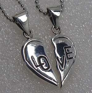 Romance 925 Sterling Silver Best Friends Pendant/Charm/Amulet