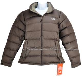 New NORTH FACE NUPTSE 2 Womens 700 Down Jacket Coat BRUNETTE BROWN