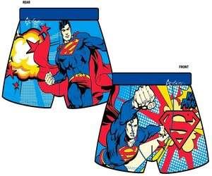 Mens Superman Novelty Boxer Shorts Sizes S XL