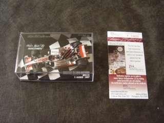 Fernando Alonso SIGNED Minichamps 143 F1 JSA authentic