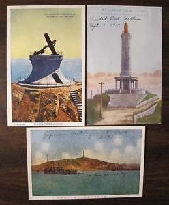 JAPANESE DESTROYERS PORT ARTHUR CHINA 3 old Postcards
