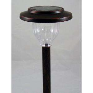 Hampton Bay Solar LED MiniStake Ancient Copper RMS4 N1 BAC T12 at The