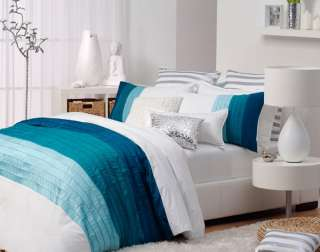 Logan & Mason~VILLA BLUE~SUPER KING Quilt Cover Set