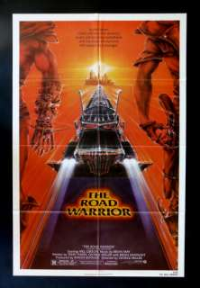 THE ROAD WARRIOR * 1SH ORIG MOVIE POSTER 1982 MAD MAX
