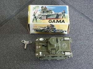Gama Panzer 634 mit Schlüssel und Original Verpackung 1x Kette