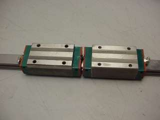 Hiwin CNC Linear Rail & (2) LG25 Bearings 500mm