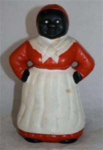 Vintage Jemima Black Americana Mammy Cast Iron Bank