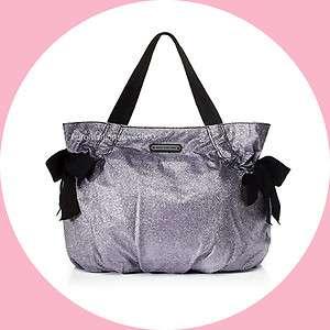 Juicy Couture Stardust Party Glow Glitter Freja Tote Bag Handbag Purse
