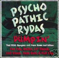PSYCHOPATHIC RYDAS DUMPIN ICP INSANE CLOWN POSSE 756504100127