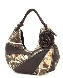 Camo Camouflage Realtree MAX4 Hobo Licensed Handbag Purse