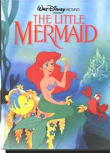 The Little Mermaid Disney, Twin Books (1989) Large Form