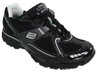 Skechers Ladies Tone Ups Ready Set Black/Silver Size 8