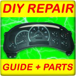 2003 GMC YUKON Instrument Cluster speedometer REPAIR KIT + DIY guide