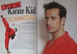 10 BLACK BELT MAG KARATE MARTIAL ARTS MATT MULLINS