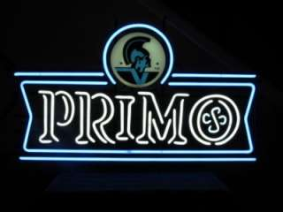 Primo Island Lager Beer Logo Promotional Neon Light Bar Sign NEW USA