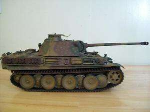 Soldier custom paint German Panther Tank 21st Century Toys Panzer