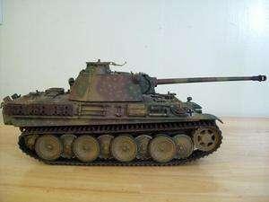 Soldier custom paint German Panther Tank 21st Century Toys Panzer