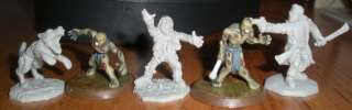 28mm Zombie SWAT / Mercenary Miniature Resident Evil Miniature