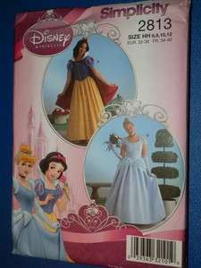 Simplicity 2817 Girls Snow White Cinderella Costume Pattern