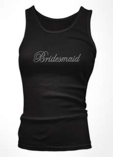 Bridesmaid Juniors Tank Top Bachelorette Party Bridal