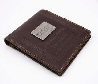 Mens LEATHER WALLET CREDIT card holder