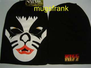 Peter Criss Kiss Catman Ski Mask Knit Hat NWT