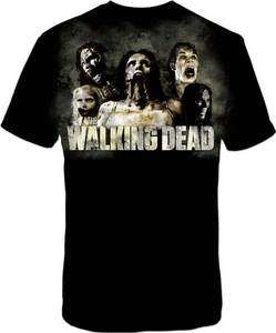 The Walking Dead   Zombies Cracked   T SHIRT S M L XL 2XL Brand New