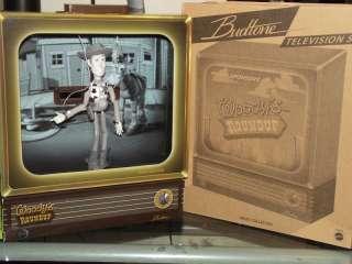 2011 D23 DISNEY TOY STORY WOODY BUDTONE TELEVISION SET