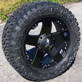 18 XD ROCKSTAR WHEELS & NITTO TRAIL GRAPPLER JEEP JK